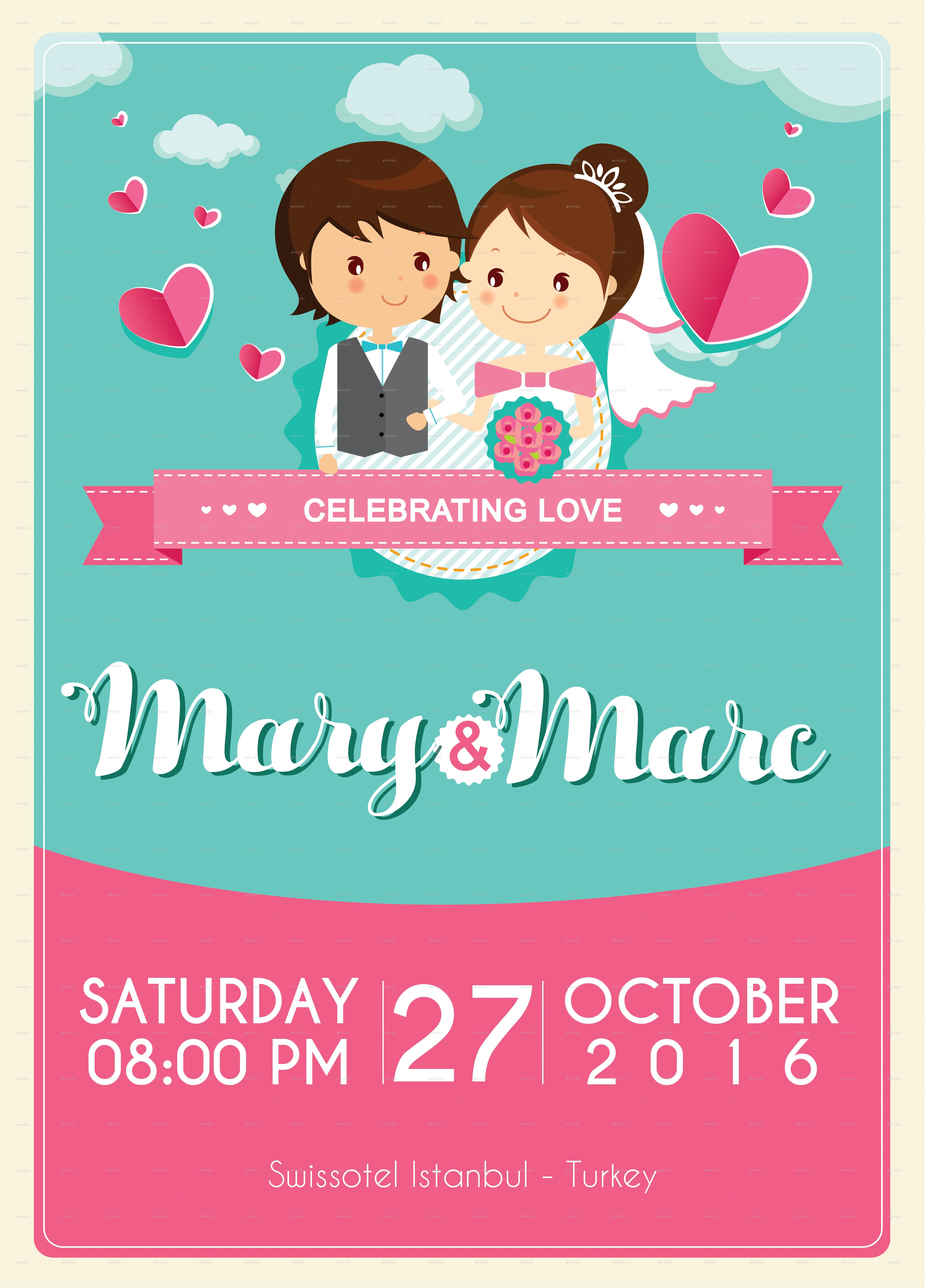 Wedding Poster Templates
