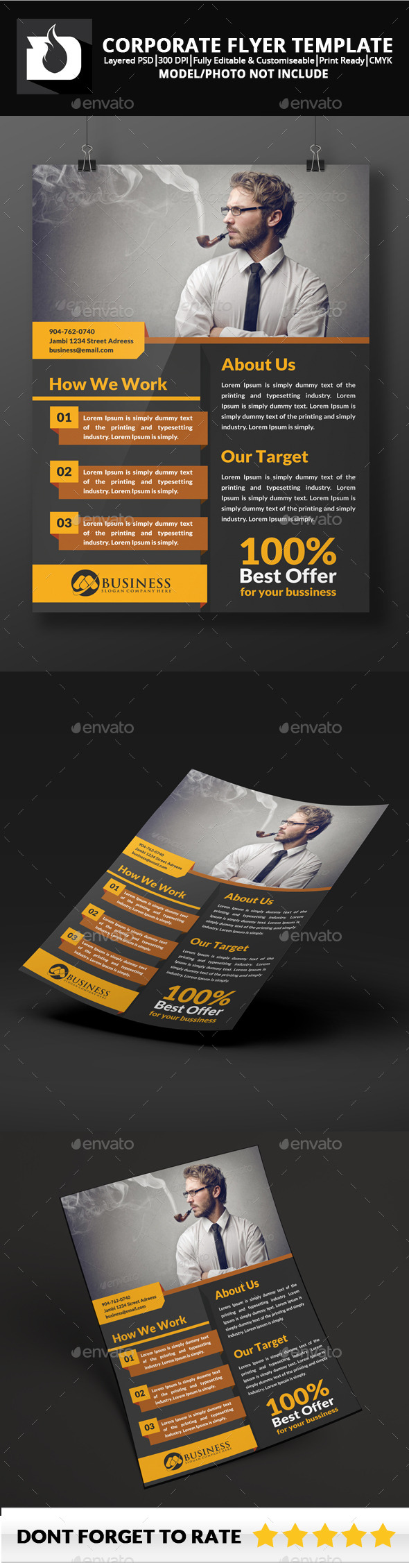 Flyer Template 1.7 - Corporate Flyers