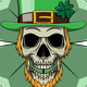 Skull Leprechaun - GraphicRiver Item for Sale