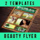 2 Beauty Flyers Template - GraphicRiver Item for Sale