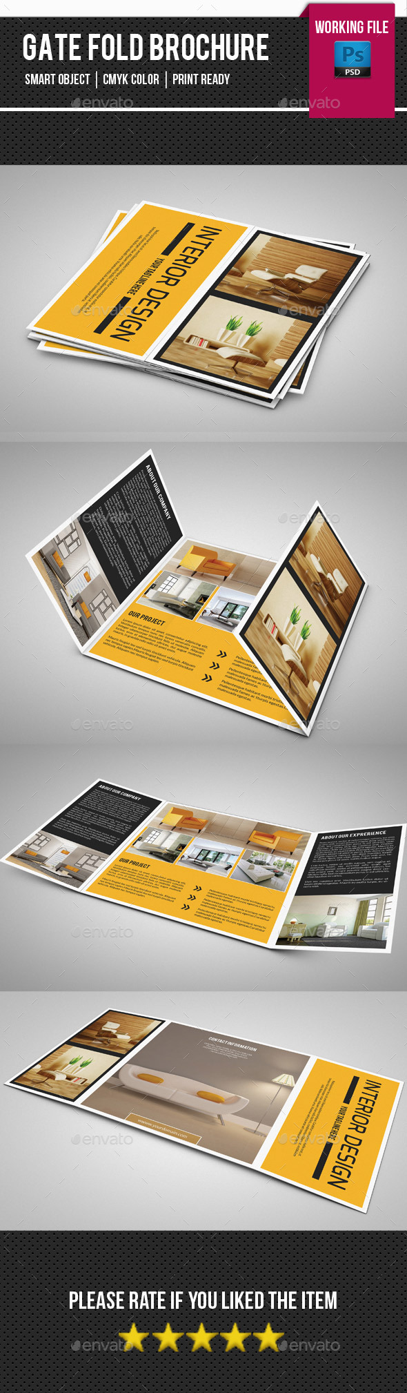 Square Gate fold Interior Brochure-V01 - Corporate Brochures