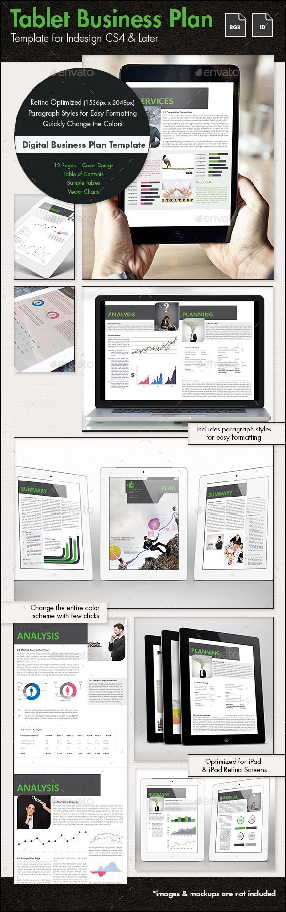Business Plan Template for Tablets - Digital Books ePublishing
