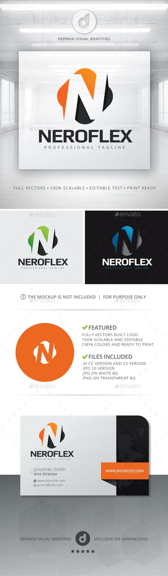 NeroFlex Logo - Letters Logo Templates