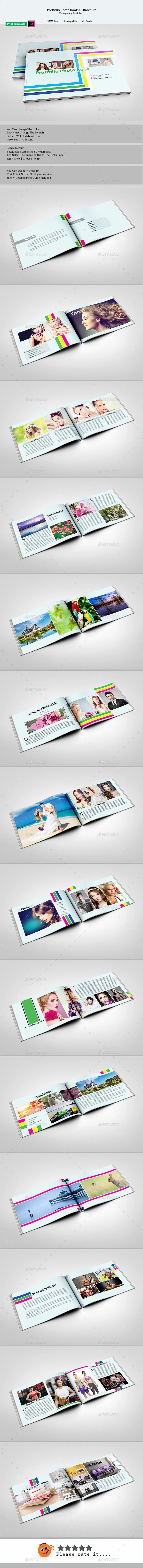 Portfolio Photo Book Brochure - Portfolio Brochures