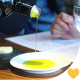 Pouring Olive Oil on the Saucer - VideoHive Item for Sale