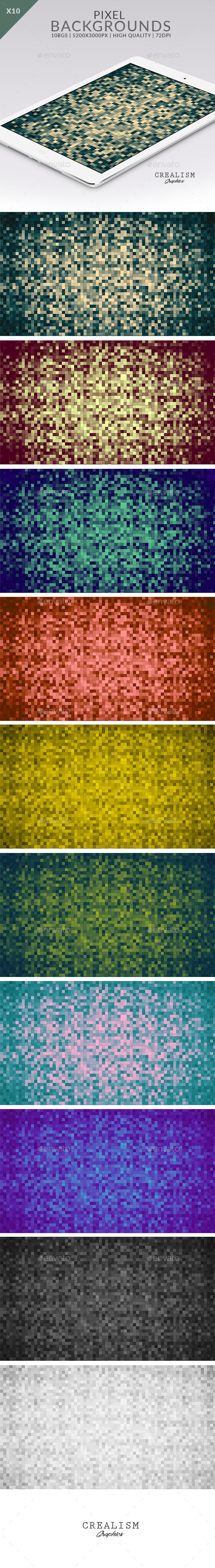 10 Pixel | Backgrounds - Backgrounds Graphics