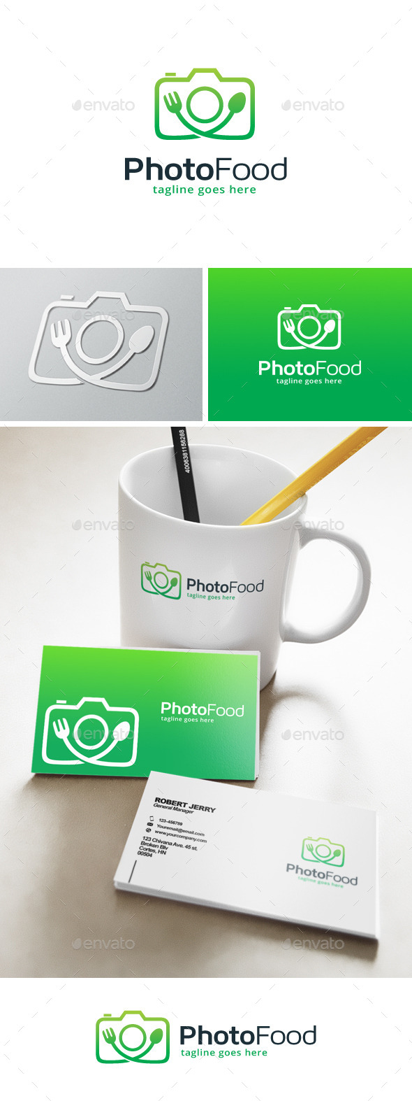 Photo Food Logo - Food Logo Templates