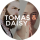 Tomas and Daisy - A Stylish Blog for Him and Her - ThemeForest Item for Sale