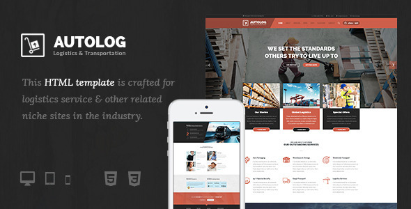Autolog – Logistic, Warehouse & Transport HTML