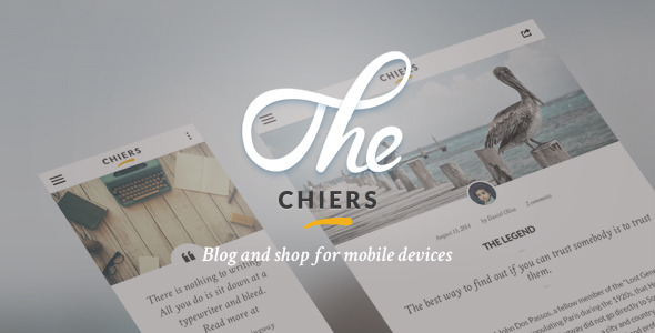 Chiers – Mobile and Tablet Responsive Template