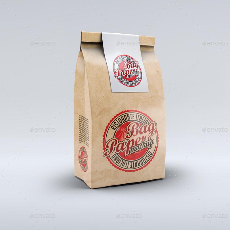paper bag mock up by l5design graphicriver