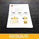 Simple Resume Templates - GraphicRiver Item for Sale