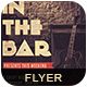 In The Bar Flyer Poster - GraphicRiver Item for Sale