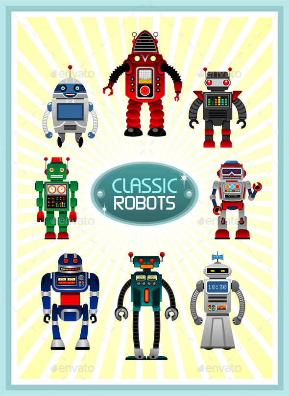 Classic Robots - Miscellaneous Characters