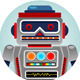 Classic Robots - GraphicRiver Item for Sale