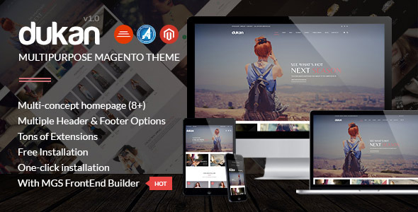 Dukan – Multipurpose Magento Theme