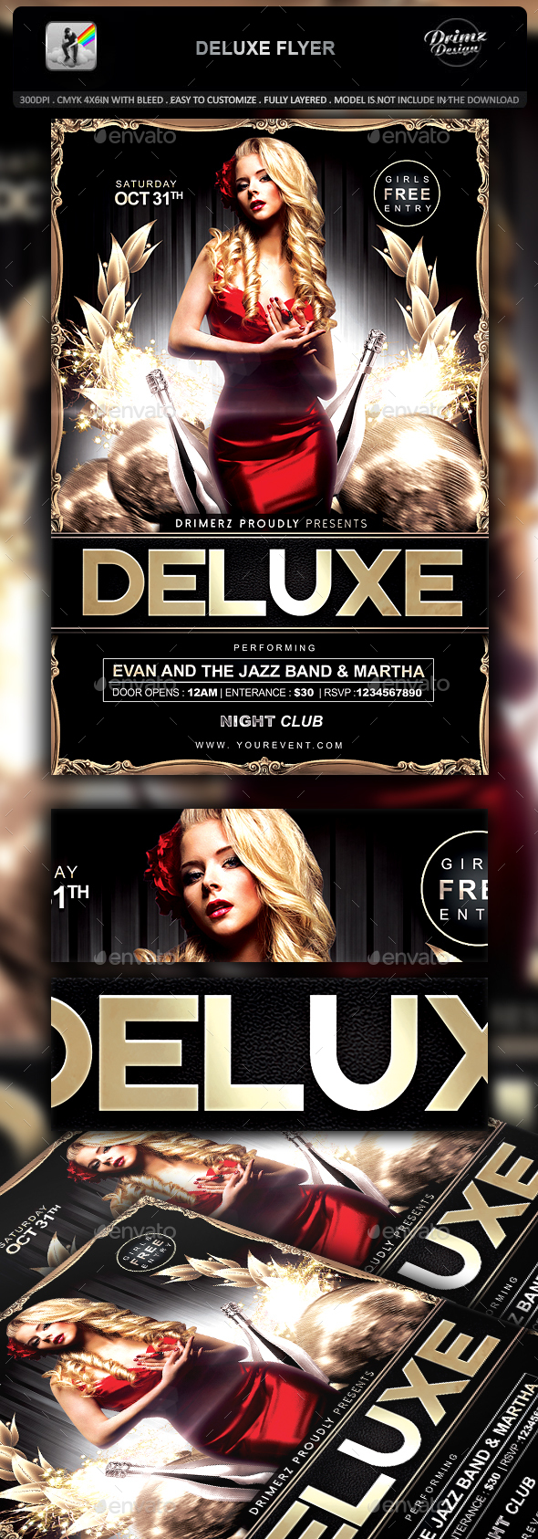 Deluxe Flyer - Events Flyers