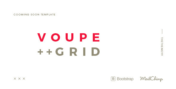 VOUPE | Coming Soon Template