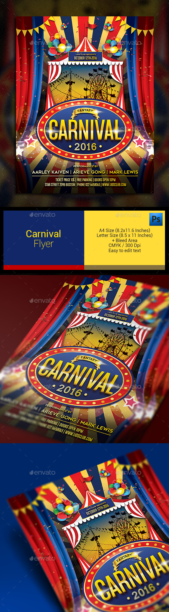 Carnival Flyer - Events Flyers