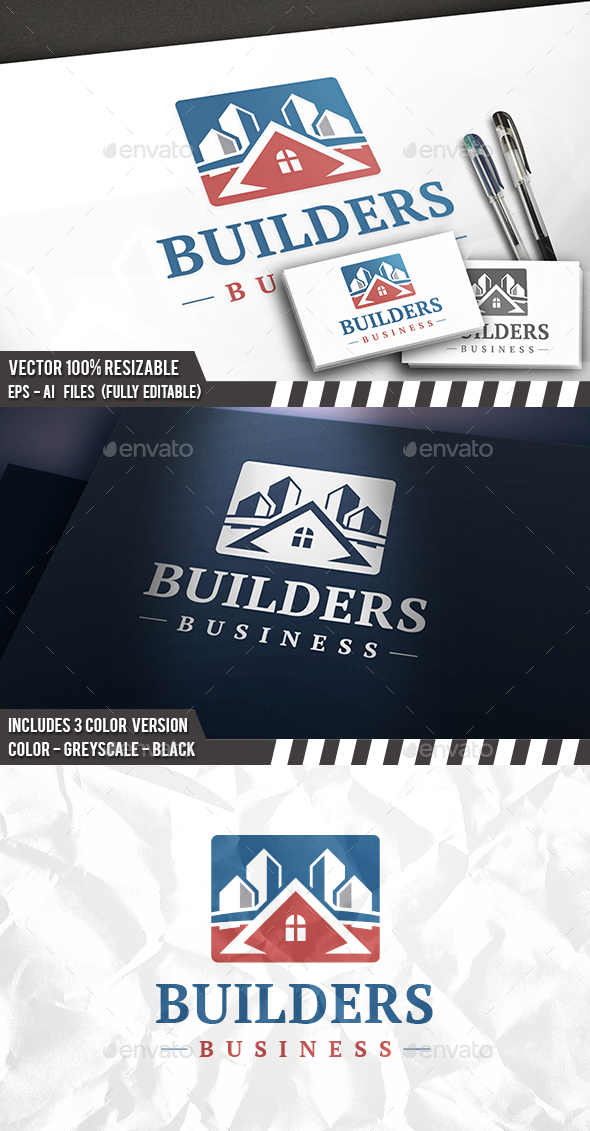 Build City Logo - Buildings Logo Templates