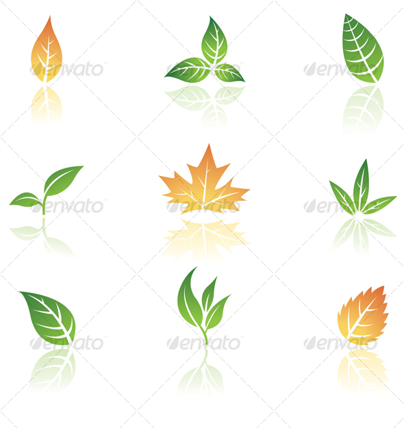 Leaves - Seasonal Icons