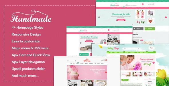Handmade – Multipurpose Responsive Magento Theme