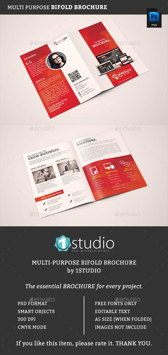 Bifold Brochure 05 - Corporate Brochures
