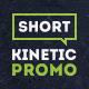 Short Kinetic Promo - VideoHive Item for Sale