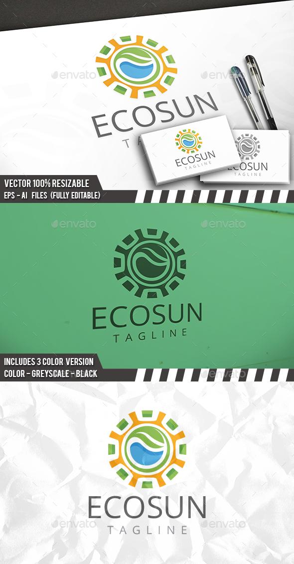 Sun Nature Logo - Nature Logo Templates