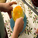 Woman Beats Together four Eggs in a Glass Bowl - VideoHive Item for Sale