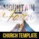 Mountain Moving Faith Flyer - GraphicRiver Item for Sale