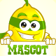 Lemon Hero Mascot - GraphicRiver Item for Sale