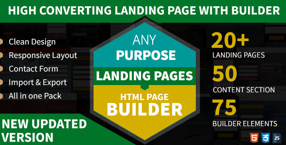 AnyPurpose Landing Page Builder & Template Styles - Landing Pages Marketing
