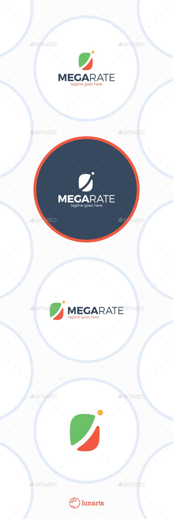 Market Rate Logo - Abstract Logo Templates