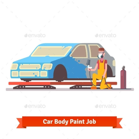 Car Body Paint Job - Industries Business