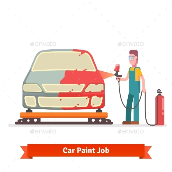 Specialist Spray Painting Auto Body - Industries Business