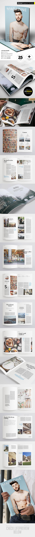 Minimal Magazine - Magazines Print Templates