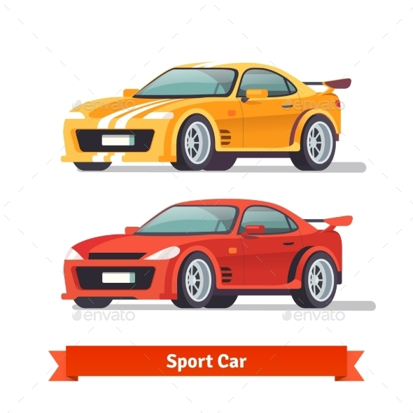 Race Sport Car - Man-made Objects Objects