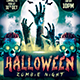 Halloween Party Zombie Flyer - GraphicRiver Item for Sale