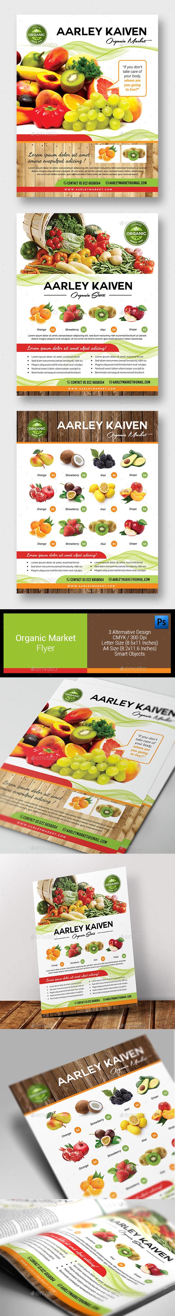 Organic Market Flyer - Corporate Flyers