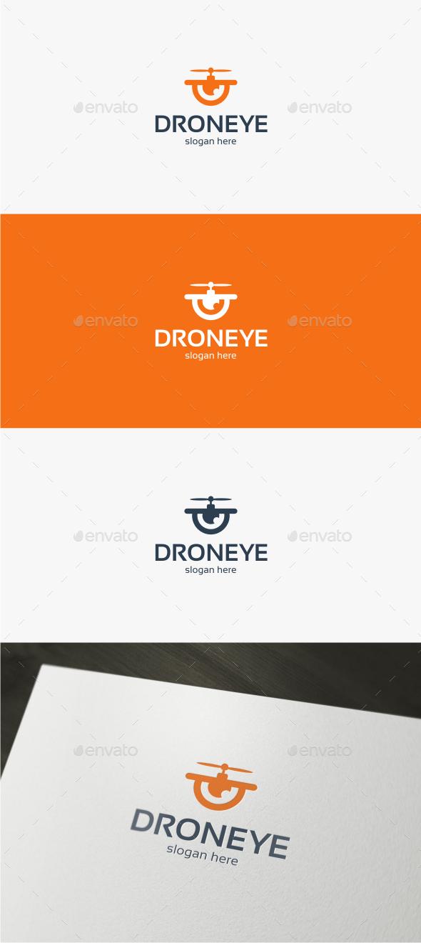 Drone Eye - Logo Template - Objects Logo Templates