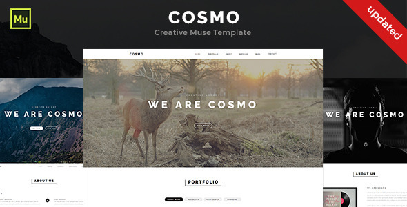 Cosmo - Creative Muse Template - Creative Muse Templates