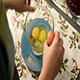 Woman Cracks Four Eggs into a Glass Bowl - VideoHive Item for Sale