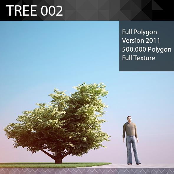 ED Tree Model 002 - 3DOcean Item for Sale