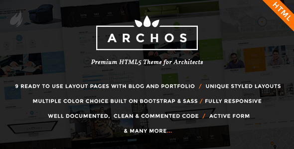 Archos - For Architect & Construction Business - Business Corporate