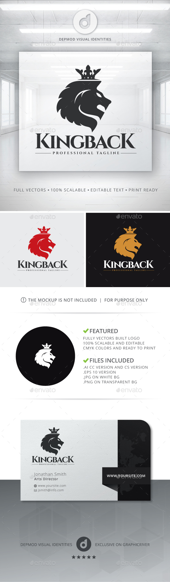Kingback Logo - Crests Logo Templates