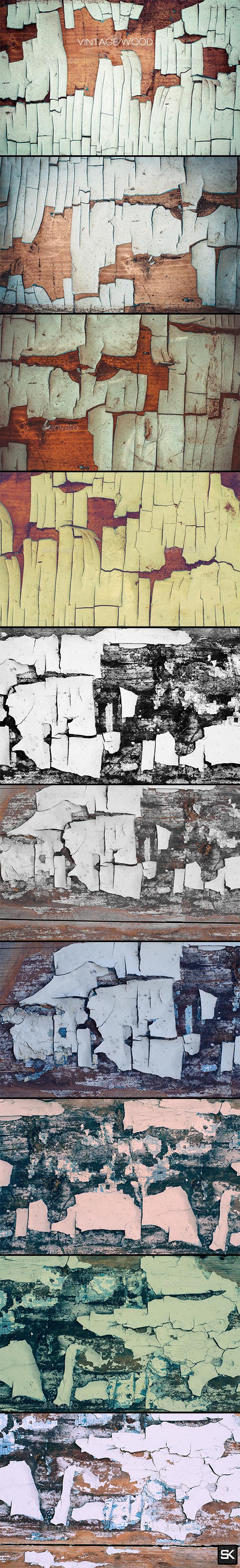 Vintage Wood.12 - Wood Textures