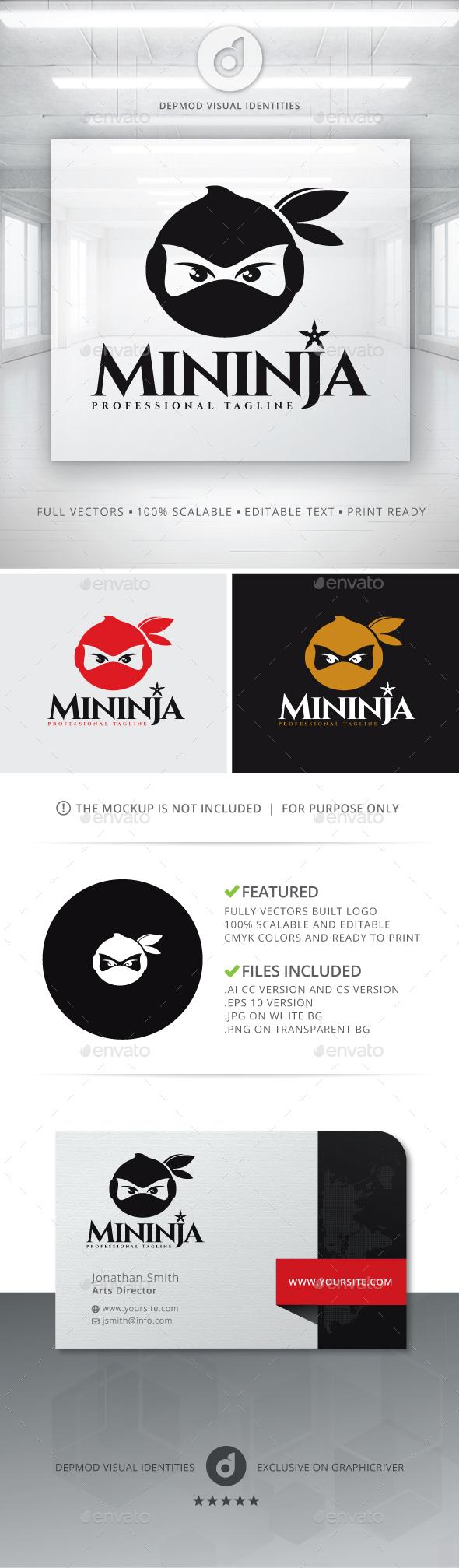 Minija Logo - Animals Logo Templates