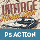 Vintage Metal Sign Photoshop Action - GraphicRiver Item for Sale