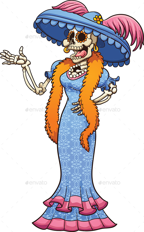 Mexican Catrina - Miscellaneous Characters